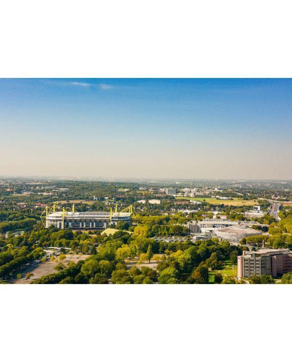 Lais Puzzle - Blick über Dortmund und Stadion - 500 & 1.000 Teile