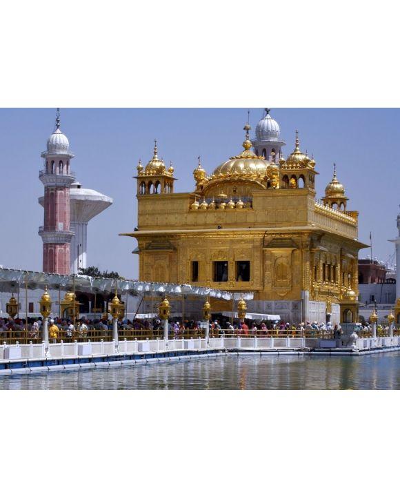 Lais Puzzle - Goldener Tempel Amritsar Indien - 500 & 1.000 Teile