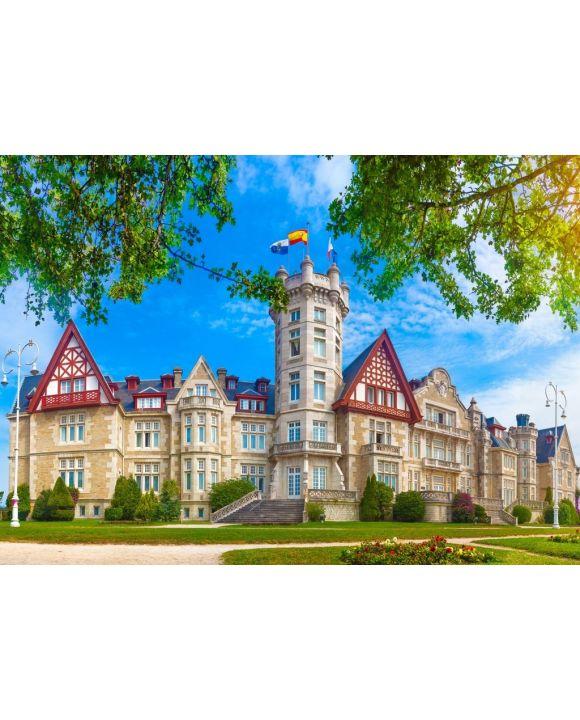 Lais Puzzle - Königlicher Palast der Magdalena in Santander, Kantabrien, Spanien - 500 & 1.000 Teile