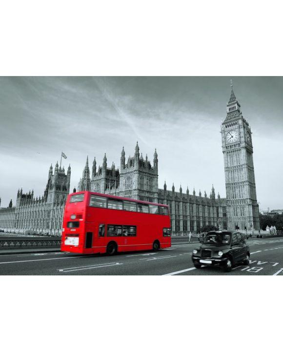 Lais Puzzle - Bus in London - 500 & 1.000 Teile