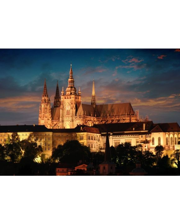 Lais Puzzle - Prag in der Nacht - 500 & 1.000 Teile