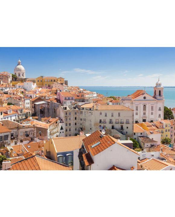 Lais Puzzle - Panoramablick über die Dächer der Alfama, Lissabon, Portugal - 500 & 1.000 Teile