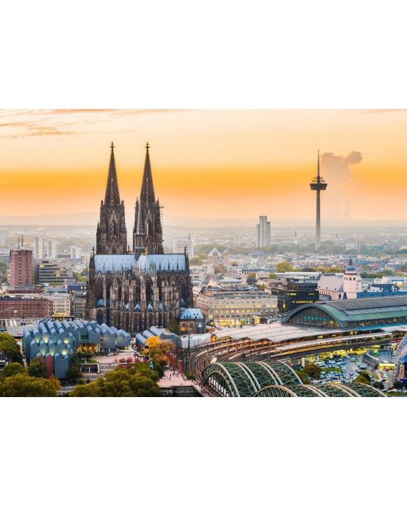 Lais Puzzle - Köln bei Sonnenuntergang - 500 & 1.000 Teile