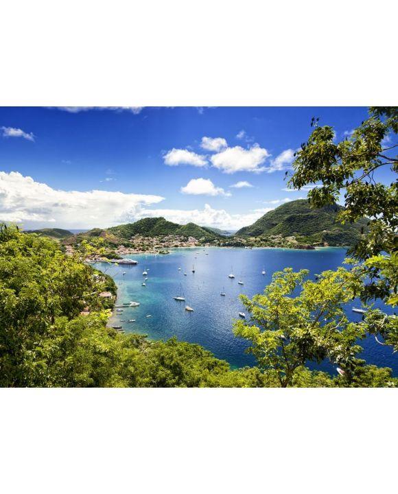Lais Puzzle - Bucht von Terre-de-Haut, Les Saintes Inseln, Guadeloupe - 500 & 1.000 Teile