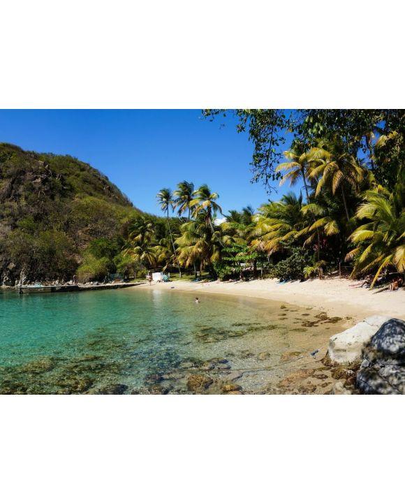 Lais Puzzle - Strand des Zuckerhuts in Les Saintes, Guadeloupe - 500 & 1.000 Teile