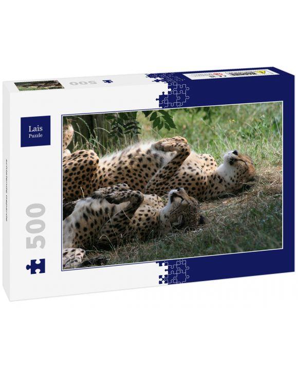 Lais Puzzle - schlafende Geparde - 500 Teile