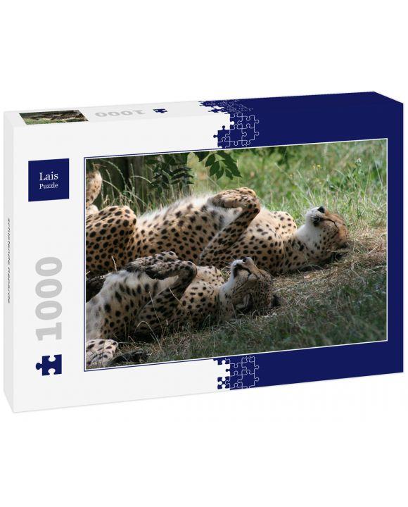 Lais Puzzle - schlafende Geparde - 1.000 Teile