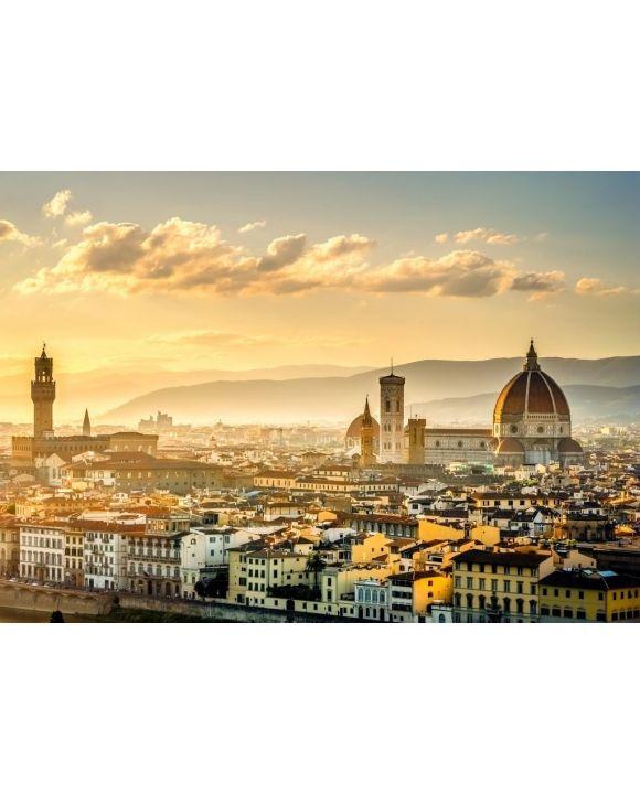 Lais Puzzle - Blick über Florenz vom Michel Angelo Platz - 500 & 1.000 Teile