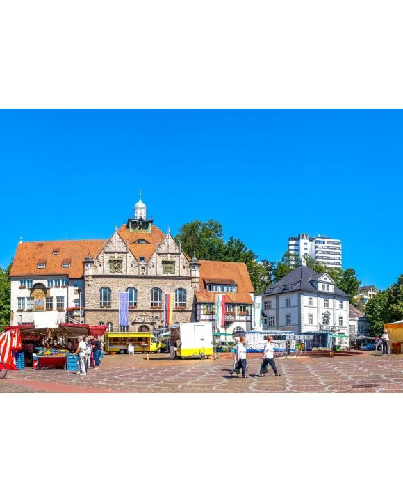 Lais Puzzle - Marktplatz, Bergisch Gladbach - 500 & 1.000 Teile
