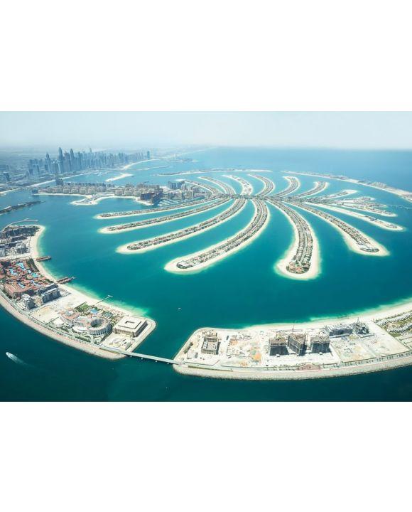 Lais Puzzle - Blick auf Palm Island in Dubai - 500 & 1.000 Teile
