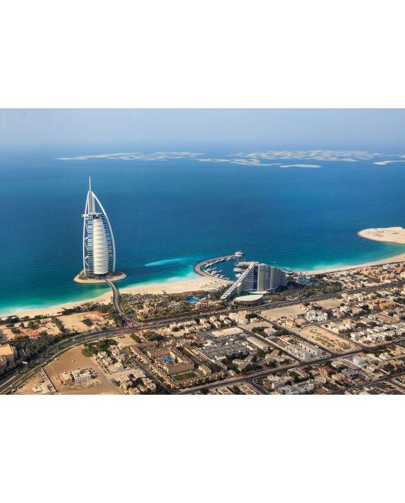 Lais Puzzle - Dubai, UAE, Burj Al Arab von oben - 500 & 1.000 Teile