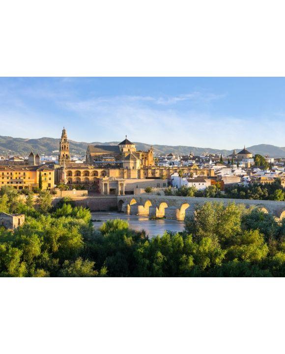 Lais Puzzle - Kathedrale, Mezquita und römische Brücke, Córdoba, Spanien - 500 & 1.000 Teile