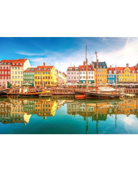Lais Puzzle - Nyhavn Kopenhagen, Dänemark - 500 & 1.000 Teile