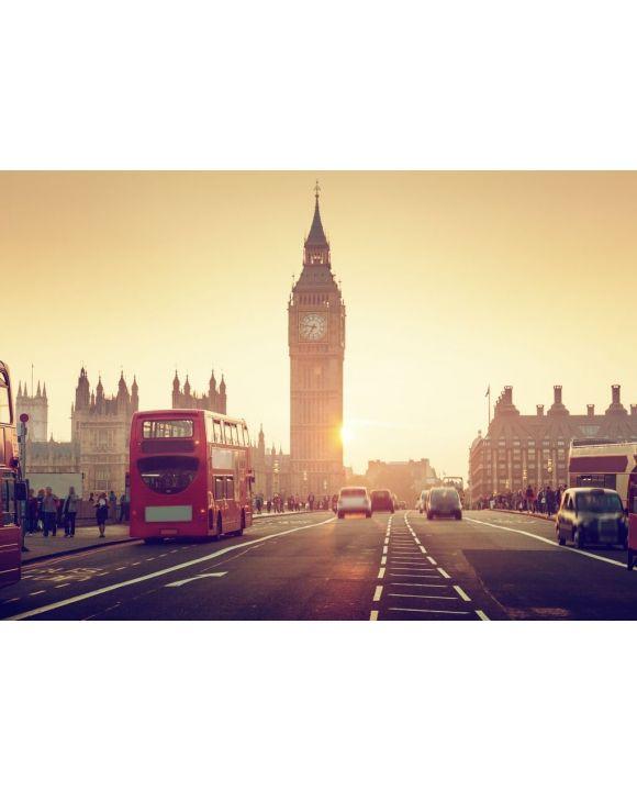 Lais Puzzle - Westminster Bridge bei Sonnenuntergang, London - 500 & 1.000 Teile