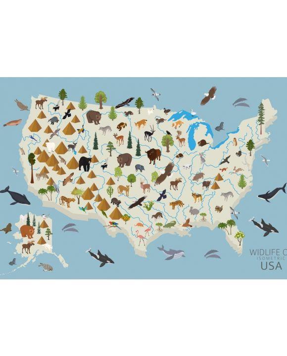 Lais Puzzle - Tierleben der USA - 500 & 1.000 Teile