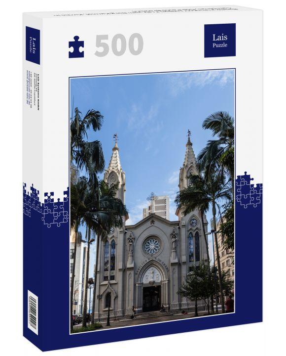 Lais Puzzle - Basilika Unserer Lieben Frau vom Berg Karmel, Kirche in Campinas, São Paulo Brasilien - 500 Teile