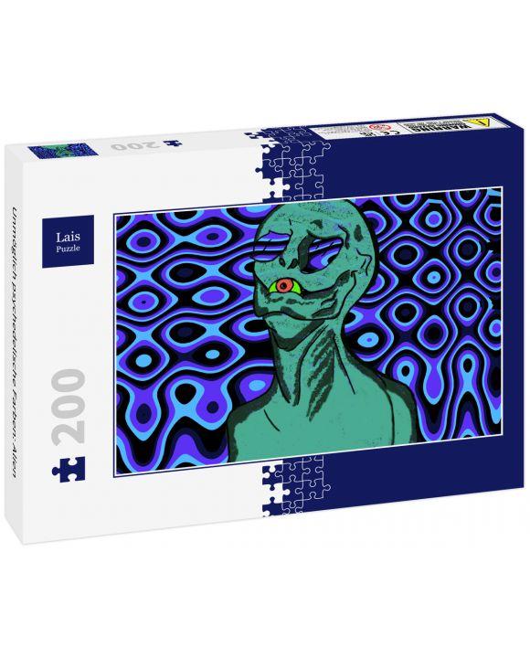 Lais Puzzle - Unmöglich psychedelische Farben: Alien - 200 Teile