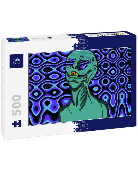 Lais Puzzle - Unmöglich psychedelische Farben: Alien - 500 Teile