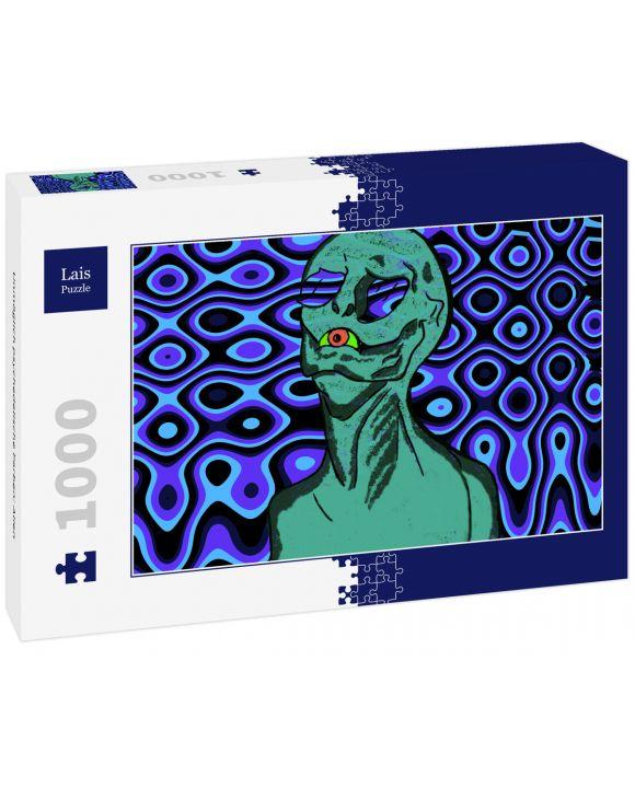 Lais Puzzle - Unmöglich psychedelische Farben: Alien - 1.000 Teile