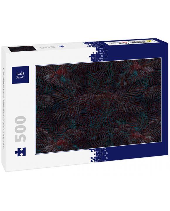 Lais Puzzle - Unmöglich, psychedelische Farben: 15 Blätter - 500 Teile