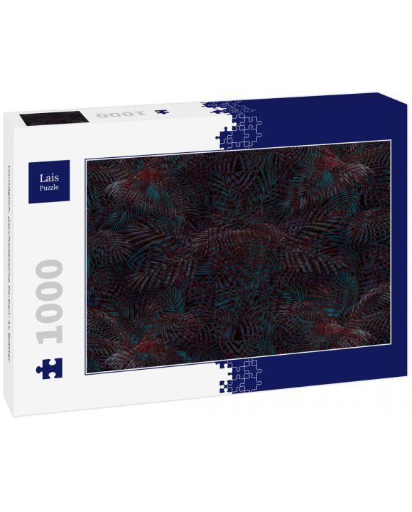Lais Puzzle - Unmöglich, psychedelische Farben: 15 Blätter - 1.000 Teile