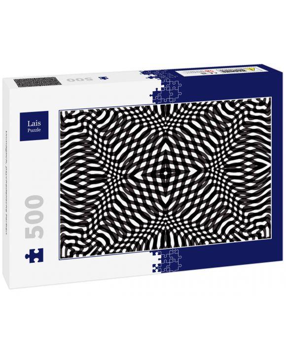 Lais Puzzle - Unmöglich, psychedelische Farben - 500 Teile