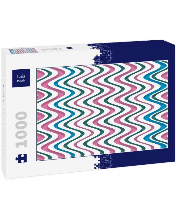 Lais Puzzle - Unmöglich, psychedelische Farben: Linien - 1.000 Teile