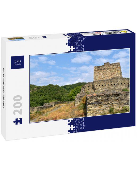 Lais Puzzle - Burgruine Schmidtburg - 200 Teile