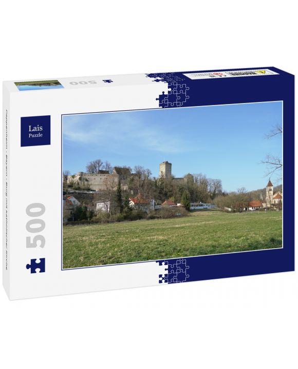 Lais Puzzle - Pappenheim - Bayern - Burg mit katholischer Kirche - 500 Teile