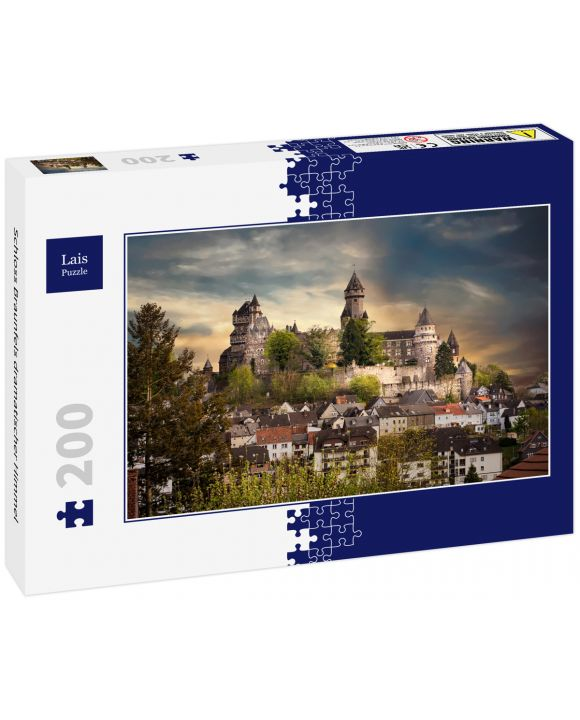 Lais Puzzle - Schloss Braunfels dramatischer Himmel - 200 Teile
