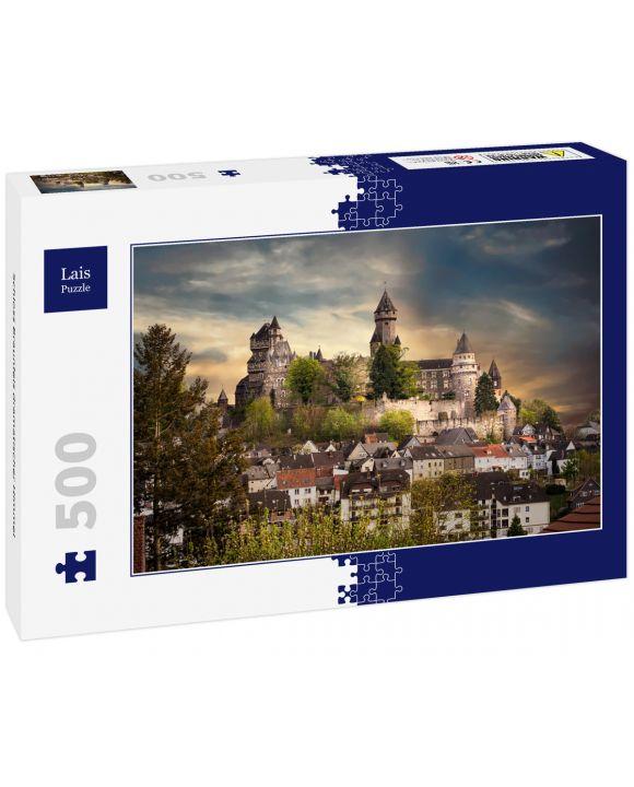 Lais Puzzle - Schloss Braunfels dramatischer Himmel - 500 Teile