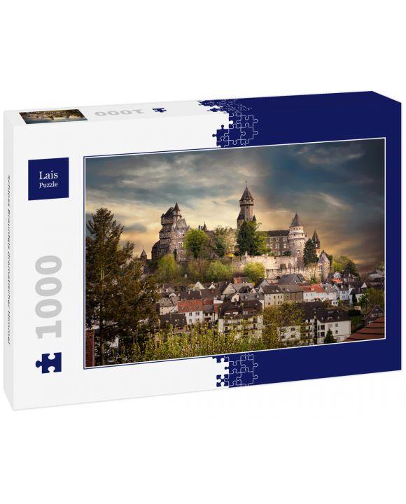 Lais Puzzle - Schloss Braunfels dramatischer Himmel - 1.000 Teile