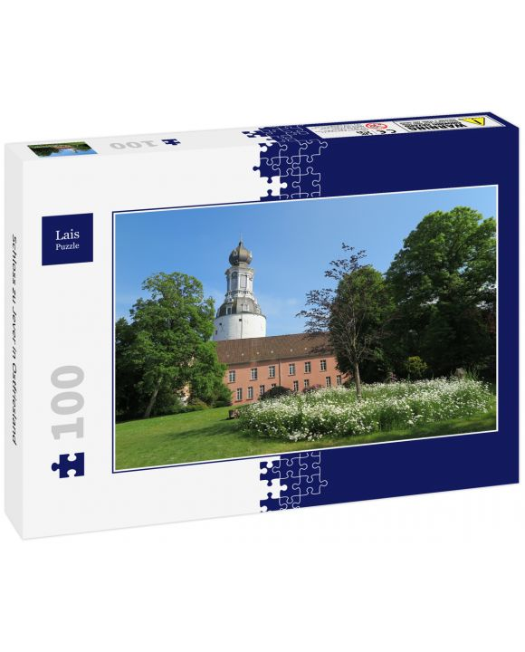 Lais Puzzle - Schloss zu Jever in Ostfriesland - 100 Teile