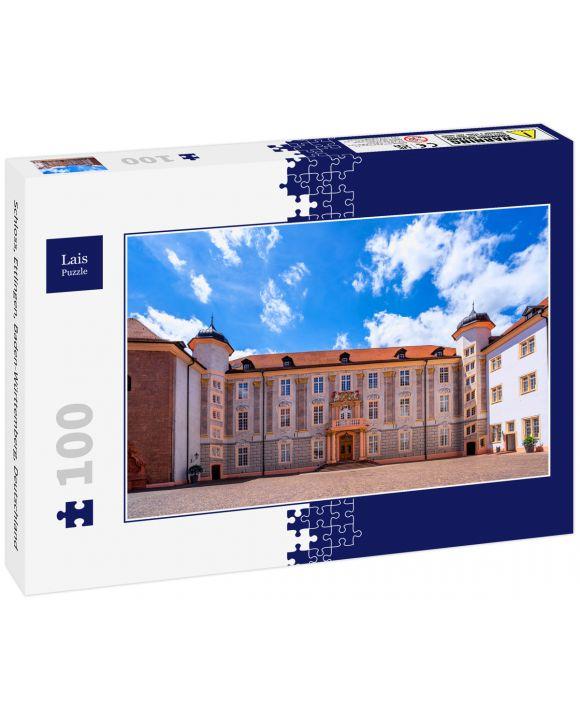 Lais Puzzle - Schloss, Ettlingen, Baden-Württemberg, Deutschland - 100 Teile