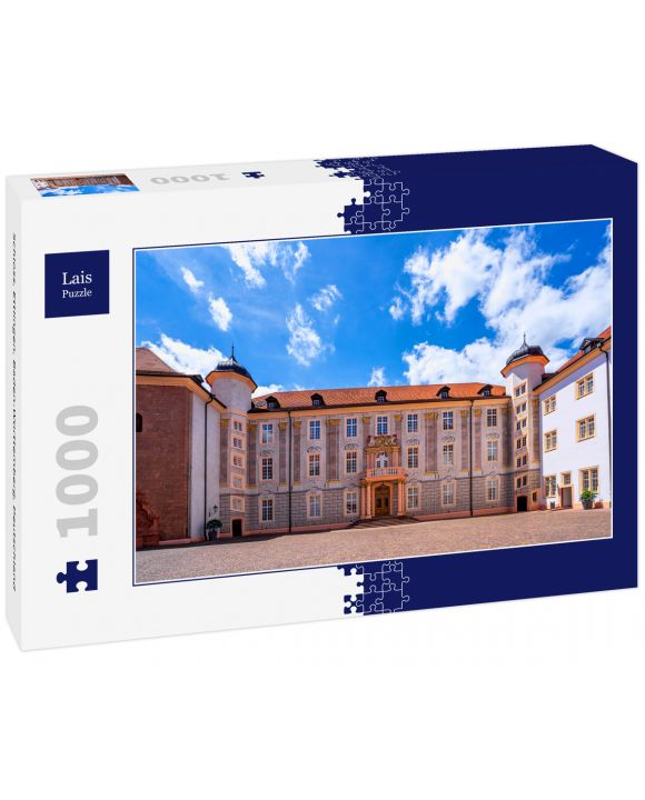 Lais Puzzle - Schloss, Ettlingen, Baden-Württemberg, Deutschland - 1.000 Teile