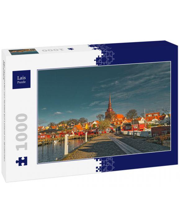 Lais Puzzle - Der Yachthafen von Nysted auf Lolland im ländlichen Dänemark - 1.000 Teile