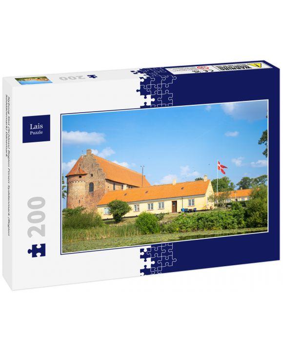Lais Puzzle - Nyborg Slot (Schloss) Region Fünen Syddanmark (Region Süddänemark) Dänemark - 200 Teile