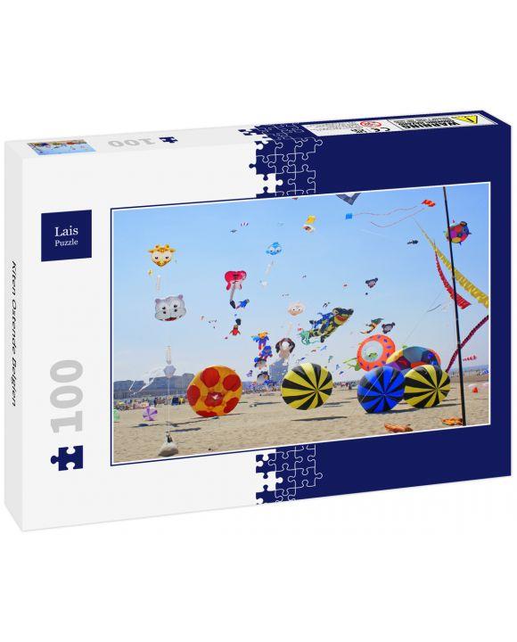 Lais Puzzle - Kiten Ostende Belgien - 100 Teile
