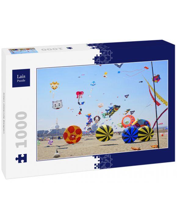 Lais Puzzle - Kiten Ostende Belgien - 1.000 Teile