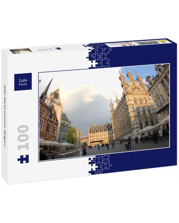 Lais Puzzle - Alter Markt Leuven, Belgien - 100 Teile
