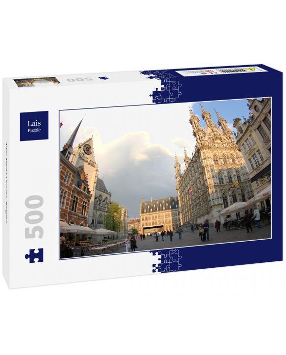 Lais Puzzle - Alter Markt Leuven, Belgien - 500 Teile