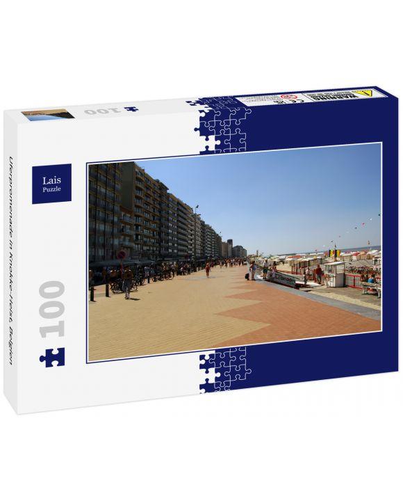 Lais Puzzle - Uferpromenade in Knokke-Heist, Belgien - 100 Teile