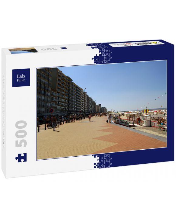 Lais Puzzle - Uferpromenade in Knokke-Heist, Belgien - 500 Teile