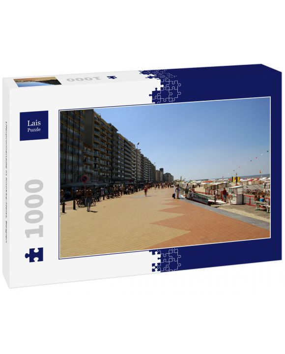 Lais Puzzle - Uferpromenade in Knokke-Heist, Belgien - 1.000 Teile