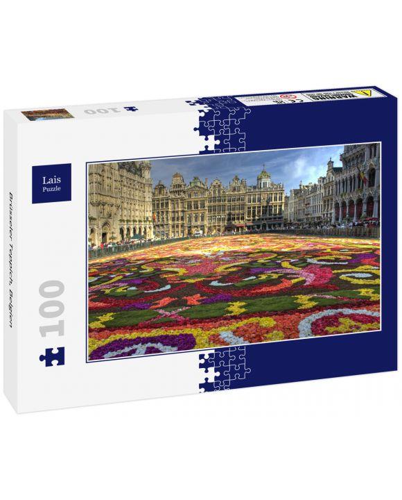 Lais Puzzle - Brüsseler Teppich, Belgien - 100 Teile
