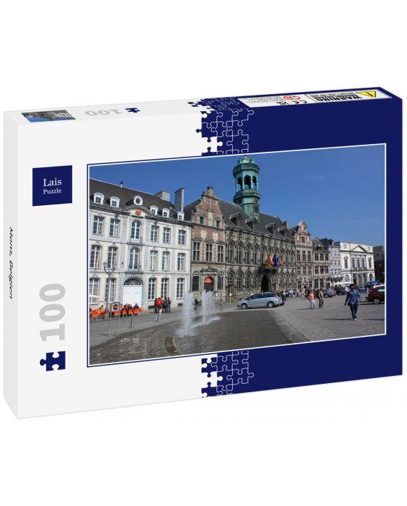 Lais Puzzle - Mons, Belgien - 100 Teile