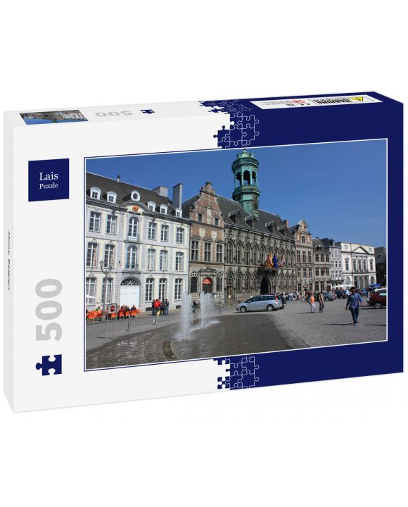 Lais Puzzle - Mons, Belgien - 500 Teile