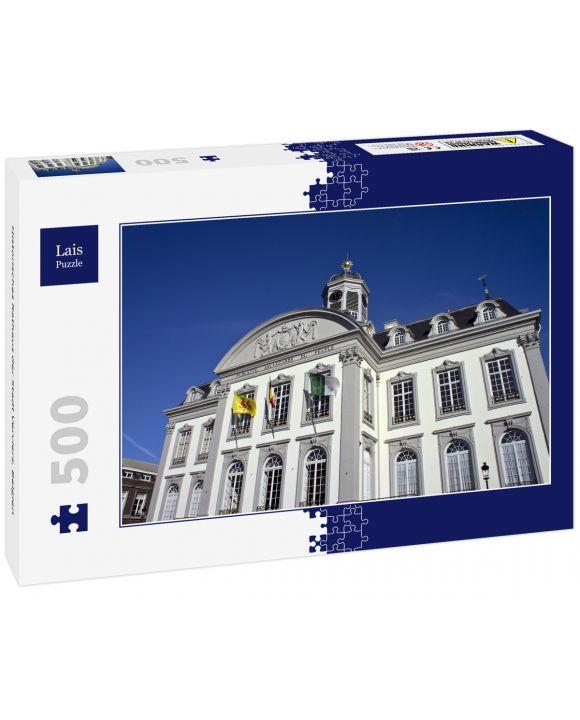 Lais Puzzle - Historisches Rathaus der Stadt Verviers, Belgien - 500 Teile