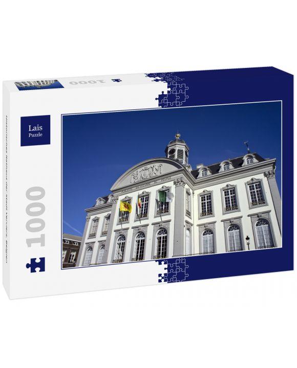 Lais Puzzle - Historisches Rathaus der Stadt Verviers, Belgien - 1.000 Teile