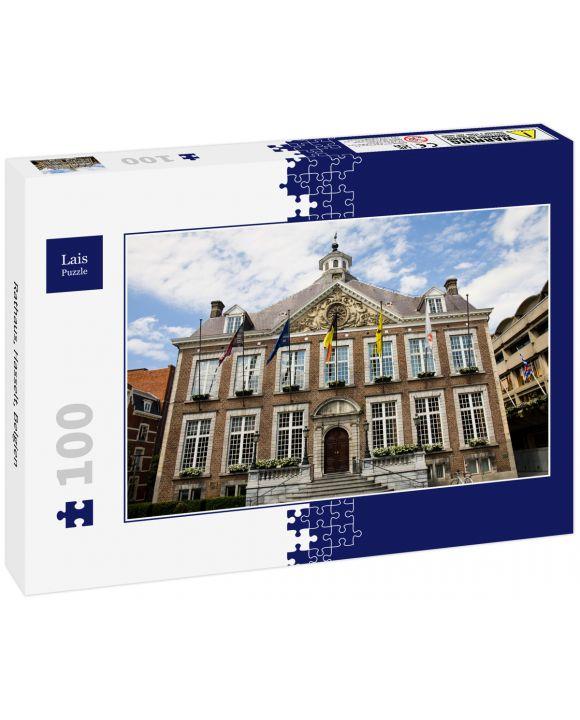 Lais Puzzle - Rathaus, Hasselt, Belgien - 100 Teile